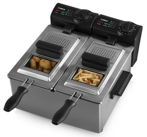 Tower Dual Basket Deep Fryer